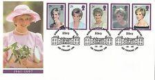 (02667) GB FDC Princess Diana Death Althorp 3 February 1998