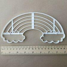 Rainbow Weather Cloud Shape Giant Biscuit Cookie Cutter Large Big Jumbo Stencil