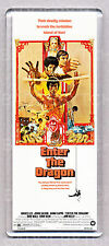 Enter The Dragon Movie Poster Large Fridge Magnet- Bruce Lee