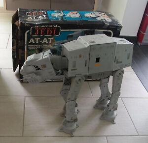 Kenner Vintage Star Wars Return of the Jedi AT AT mit Box ROTJ