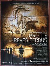 Affiche LA GROTTE DES REVES PERDUS Cave of forgotten dreams HERZOG 120x160cm *