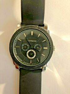 Mens Express Stainless Steel Chronograph FMDEX002 IF131 WR30M Lion Watch
