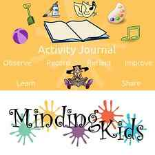 ACTIVITY JOURNAL - RECORD & REFLECT on activities. Childminders, Nurseries