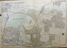 1906 YONKERS RACEWAY WESTCHESTER COUNTY NY ST JOSEPH'S SEMINARY ATLAS MAP