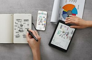 Moleskine Smart Writing Set Paper Tablet and Pen (Android / iOS)