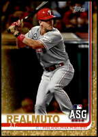 J.T. Realmuto 2019 Topps Update 5x7 Gold #US58 /10 Phillies