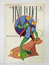 The Fish Police #1 Comic Book Fishwrap 1985 - Reprint