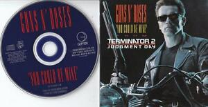 GUNS N'ROSES PROMO CD YOU COULD BE MINE