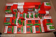 10 kg Fischer Schrauben Mix Spanplattenschrauben Holzschrauben Restposten 10kg