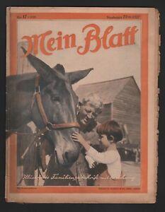LEIPZIG Zeitschrift 1930 Verlag W. Vobach & Co. Illustrierte Familien-Zeitung