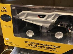 Caterpillar 1:50 Scale CAT 797F Off-Highway Truck  by Norscot SPECIAL WHITE ED