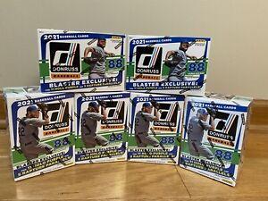 2021 Donruss MLB Baseball 6 Blaster Box Team Break - Pittsburgh Pirates