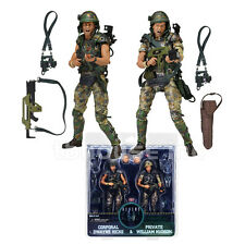 HICKS & HUDSON 2-PACK figure ALIENS space COLONIAL MARINES neca 30th ANNIVERSARY