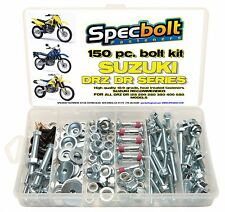150pc Factory Suzuki Match Bolt Kit DRZ DR 100 110 125 200 250 350 400 650 DS