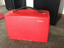 Vintage RED Bernina 830 Record Sewing Machine CASE ONLY Clean!  C