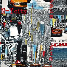 """Microfaser Möbelstoff """"NEW YORK II"""" Mikrofaser Textilstoff Polster Modern Design"""