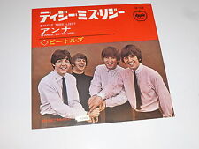 "THE BEATLES - Dizzy Miss Lizzy - Scarce 1965 Japanese 7"" vinyl single"