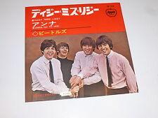 "THE BEATLES - Dizzy Miss Lizzy - Scarce 1965 Japanese 7"" vinyl single"