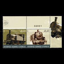 CYPRUS 2010 Railway Locomotives. SG 1222-1223. Mint Never Hinged. (WG563)