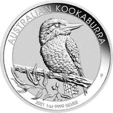1 Oz Argento 999 Australian Kookaburra 2021 Fine Silver - Oncia Australia