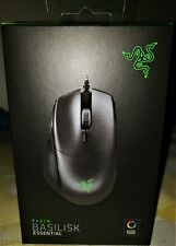 Razer Basilisk Essential RGB Game Mouse - 7 Programmable Buttons - Classic Black