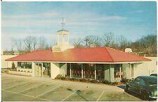 Howard Johnson's Restaurant Roadside Postcard