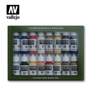 Vallejo 70147 Model Color Colour American Colonial 16 x 17ml paint set