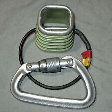 Trango ATC / Black Diamond Locking Carabiner Combo Rappel caving etc.