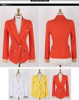 NEW!!! Women's Fashion Casual Candy Color Slim Suit Blazer Coat Jacket ^-^