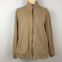 Lauren Ralph Lauren Womens Plus Size 2X Tan Beige Full Zip Jacket Pockets