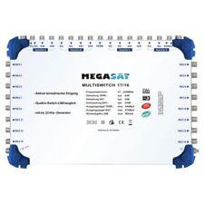 Megasat Multi-Switch 17/16 Multicommutateur Diseqc Répartition Quad LNB Adapté