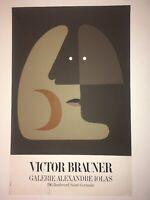 Affiche Brauner galerie Iolas