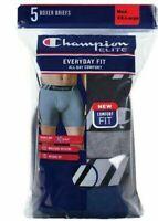 Champion Men's 5-Pack Boxer Brief Double Dry Technology X-Temp MultiColor M L XL