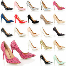 High Heel (3-4.5 in.) Stiletto Court Casual Shoes for Women
