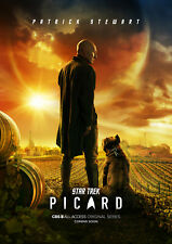 Comic Con Exclusive: Star Trek Picard Poster and Visitor Pin