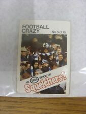1970/1971 Esso: Squelchers - 05 Football Crazy, An Esso Mini-Book 16 Issued In C