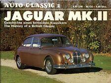 JAGUAR MK II HISTORY OF A BRITISH CLASSIC, AUTO-CLASSIC 2, NEW 1975 BOOK on sale