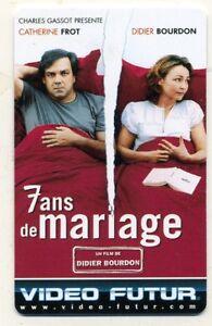 VIDEO FUTUR  collector  7 ANS DE MARIAGE     (238)