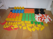 Large Lot of Tinkertoys 289 Building  Pieces