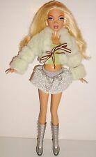Poupée mannequin my scene Mattel 1999 blouson fourrure anis