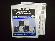 Canadian Wholesale Supply 1981 Supplement for 3 ring binder, New