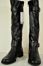 WOMENS A2 BY AEROSOLES TALL  BLACK BOOTS SIZE 6M MSRP $100 BRAND NEW