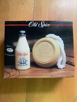 Vintage Old Spice After Shave And Soap On A Rope Men's Gift Set 1988 NIB