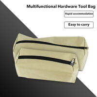Zipper Tool Bag Pouch Organize Storage Parts Hand Tool Plumber Electrician