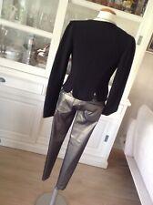 Skinny Jeans goldfarben metalliclook Röhre Leggings Röhrenjeans #1995