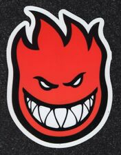 2 Large Spitfire, Red, Vinyl Stickers