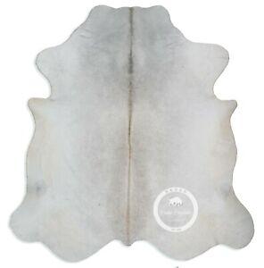 Cowhide Rug - Grey High Quality Hair on Hide Size: Jumbo (XL) E19
