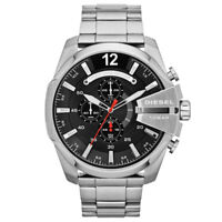 Diesel DZ4308 Chief Chronograph Black Dial Stainless Steel Men's Watch