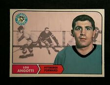 1968 68-69 OPC Lou Angotti (103) Pittsburgh Penguins Excellent Centered