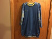 Men's NIKE DRI-GIT Blue Bike Shirt Size L